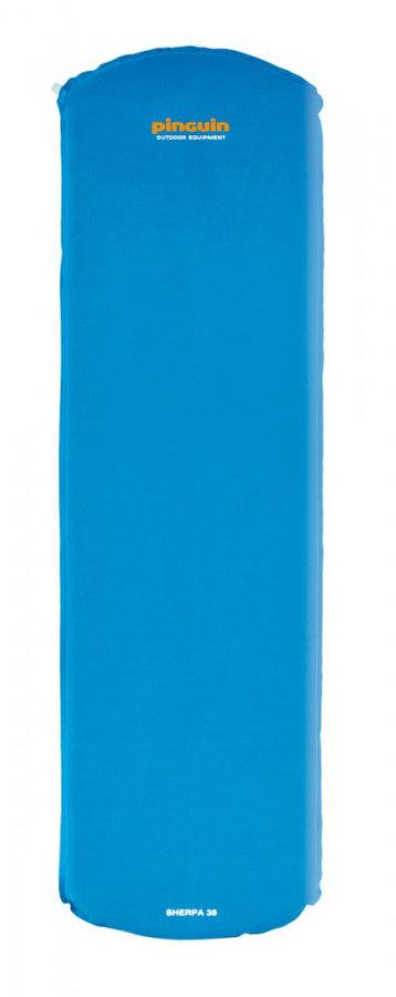 Modrá samonafukovací karimatka Pinguin - tloušťka 3,8 cm