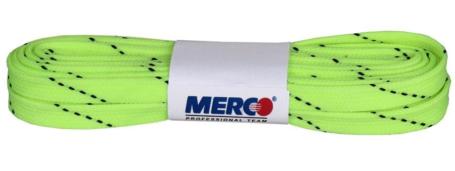 Zelené tkaničky do hokejových bruslí Merco