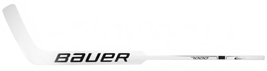Pravá brankářská hokejka - senior Reactor 7000 Foam Core, Bauer - délka 66 cm