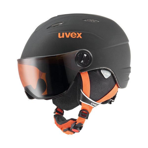 Černá dětská lyžařská helma Uvex