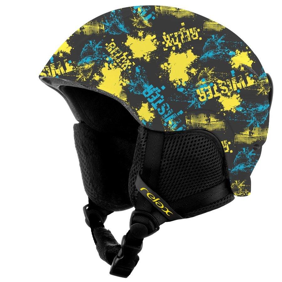 Černá dětská lyžařská helma Relax - velikost S