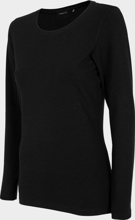 Černé dámské tričko s dlouhým rukávem Outhorn