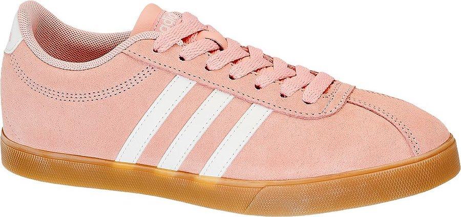 Růžové dámské tenisky Adidas - velikost 36 EU