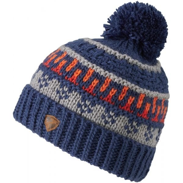 Modrá pánská zimní čepice Ziener - velikost S