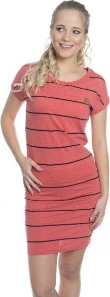 Červené dámské šaty Sam 73 - velikost S