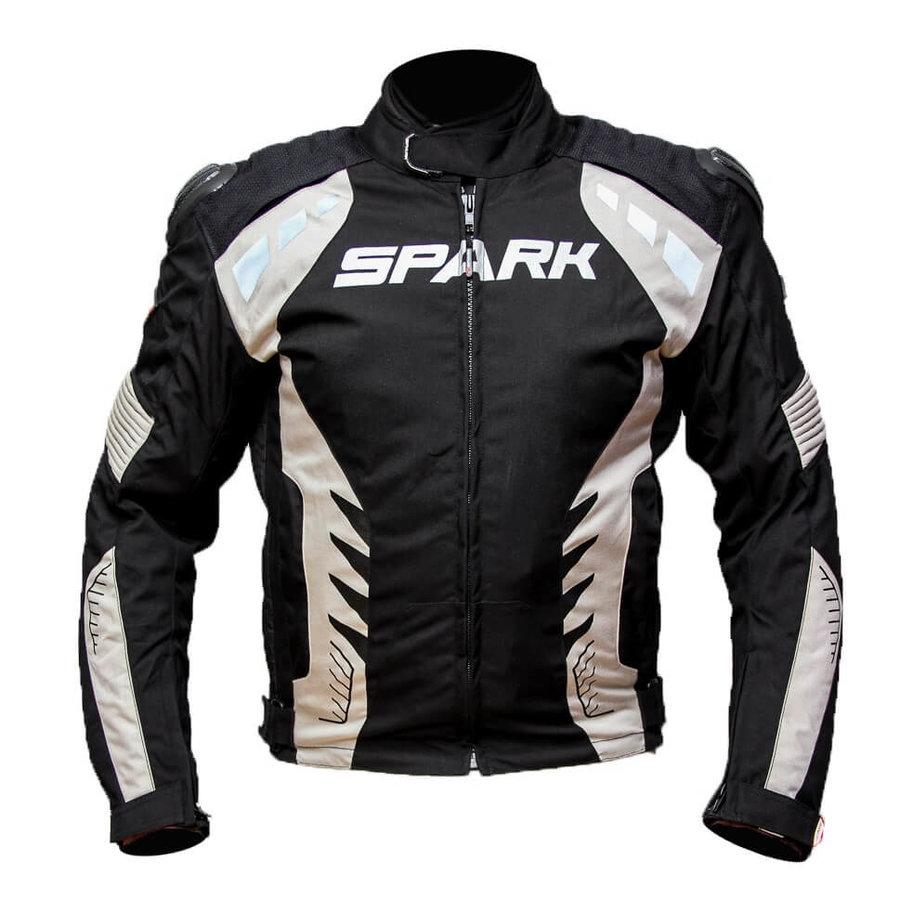 Černá pánská motorkářská bunda Hornet, Spark