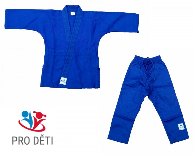 Modré kimono na judo Mifune