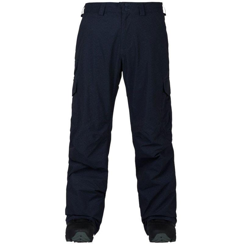 Modré pánské snowboardové kalhoty Burton