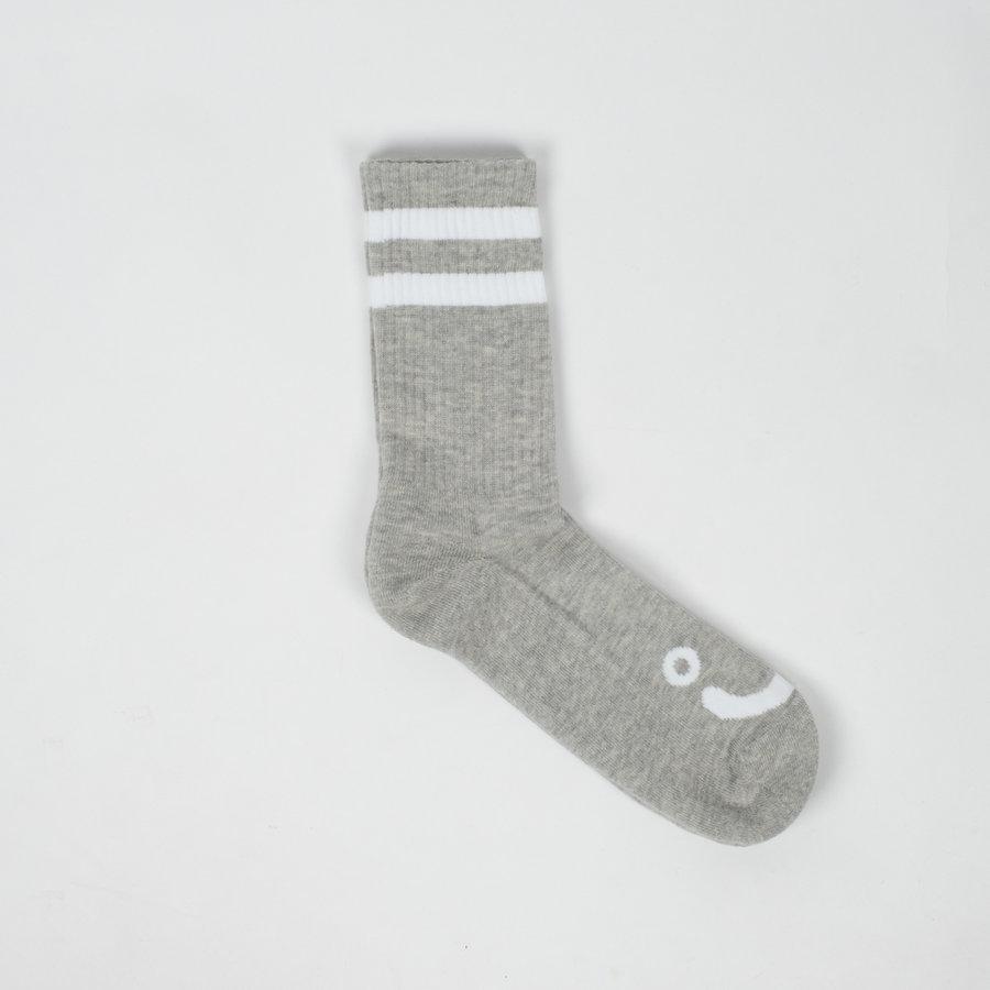 Šedé vysoké pánské ponožky Polar Skate Co.