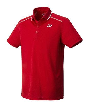 Červené pánské funkční tričko s krátkým rukávem Yonex - velikost L