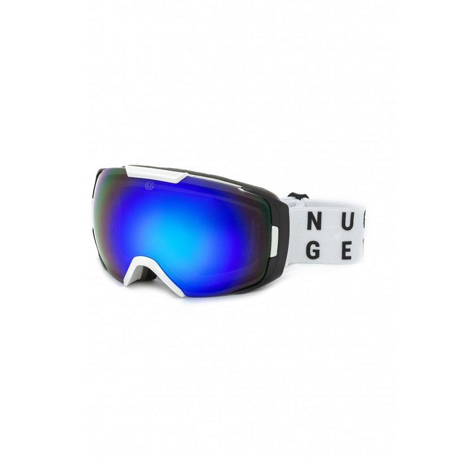 Brýle na snowboard - Nugget Amplifier 4 Goggles C - White Velikost: JEDNOTNÁ VELIKOST