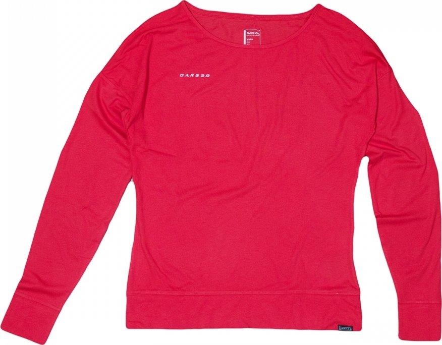 Červené dámské tričko s dlouhým rukávem Regatta