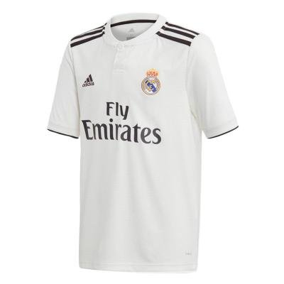 "Bílý fotbalový dres ""Real Madrid CF"", Adidas - velikost L"