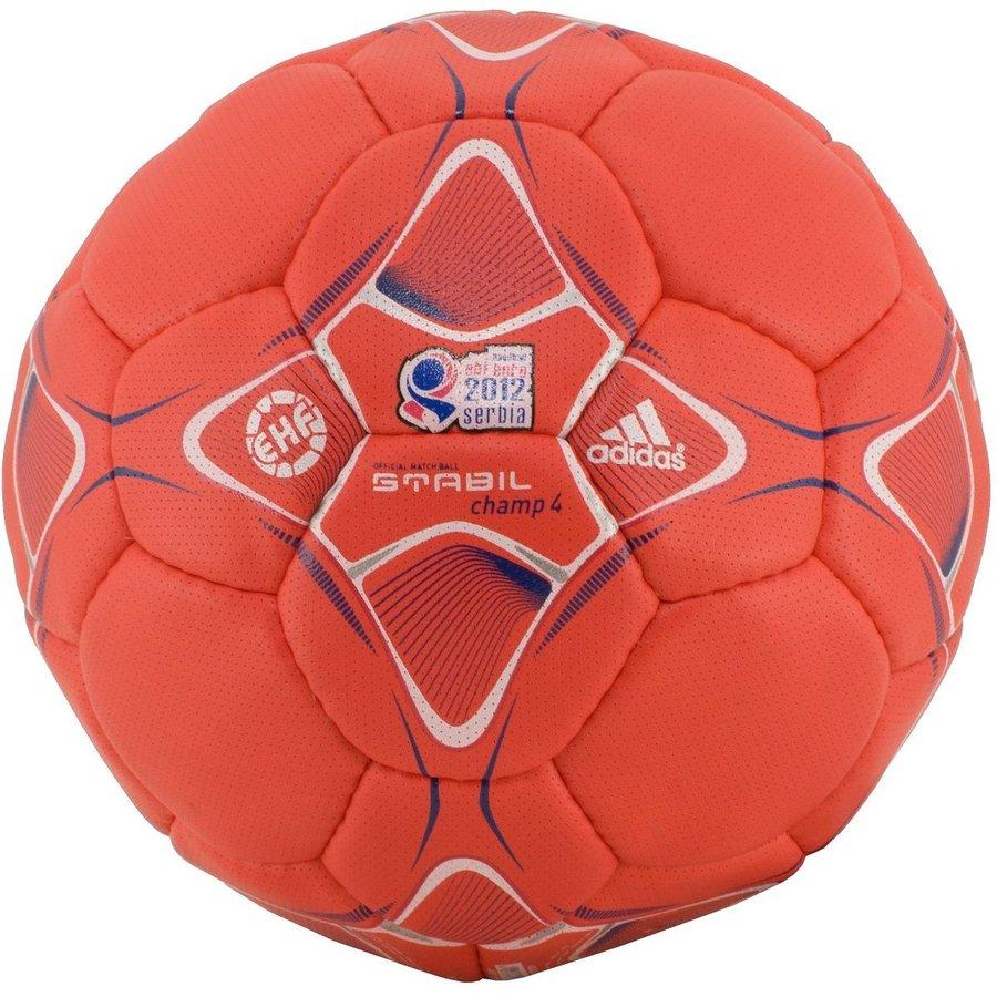 Červený míč na házenou STABIL 4 Champ, Adidas - velikost 3