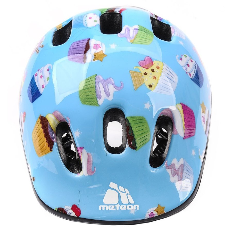 Modrá dětská cyklistická helma - velikost 44-48 cm