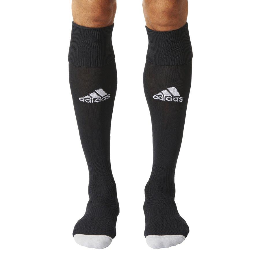 Černé fotbalové štulpny Milano 16 Sock, Adidas - velikost 27-30 EU