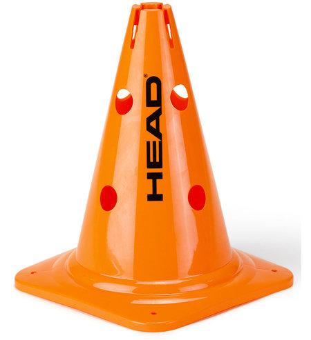 Oranžový tréninkový kužel Head - 6 ks