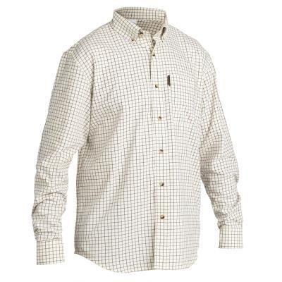 Béžová lovecká košile Solognac
