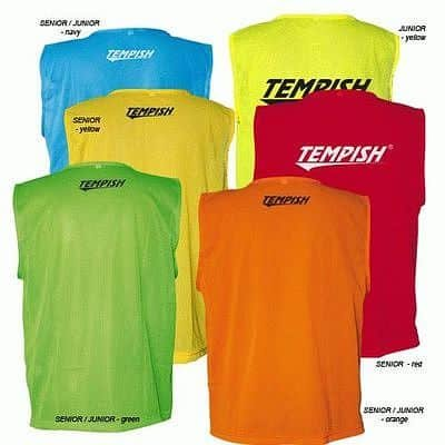 Oranžový rozlišovací dres Tempish - velikost senior