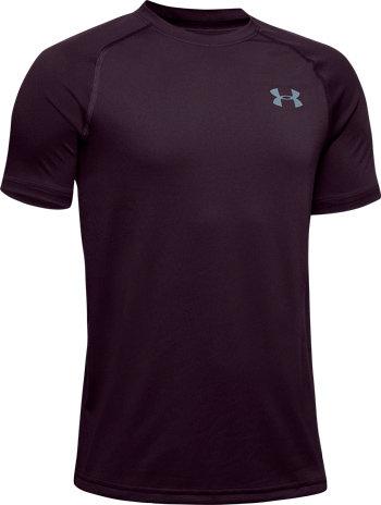 Fialové chlapecké tričko s krátkým rukávem Under Armour - velikost S