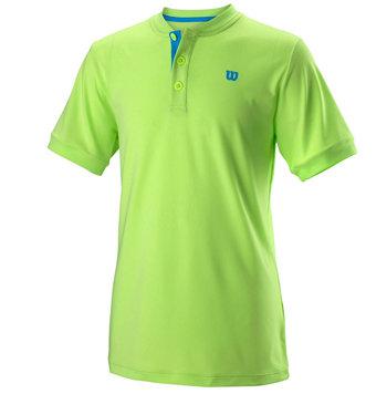 Zelené dětské chlapecké nebo dívčí tenisové tričko Wilson