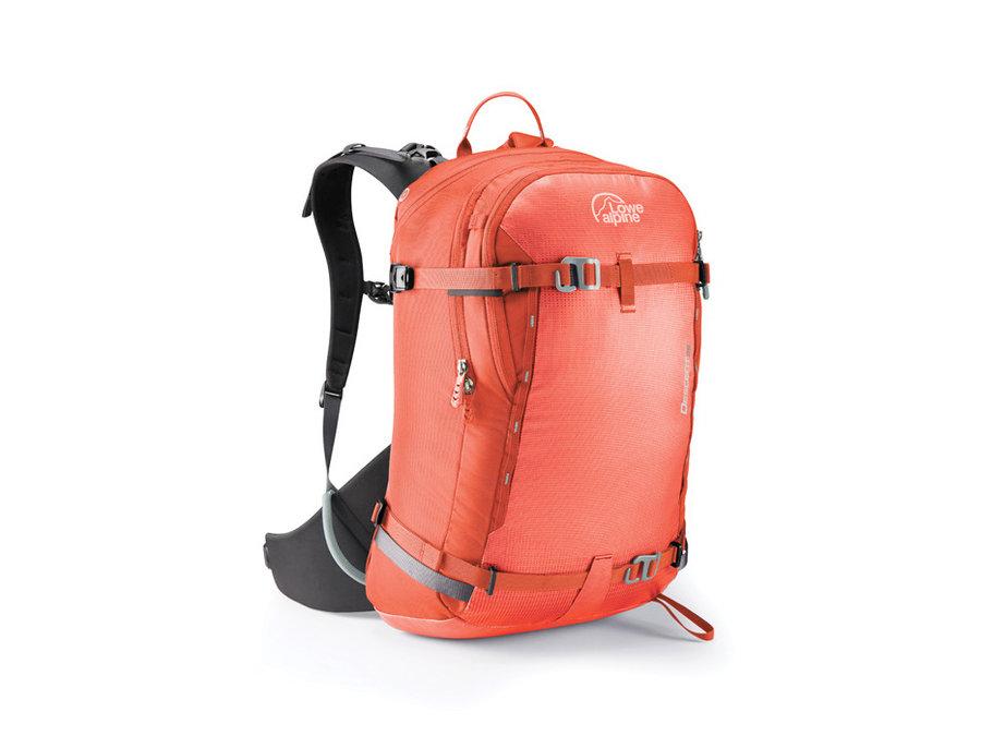 Oranžový lavinový skialpový batoh Lowe Alpine - objem 25 l