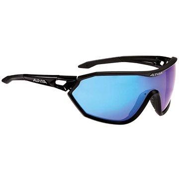 Černé cyklistické brýle Alpina