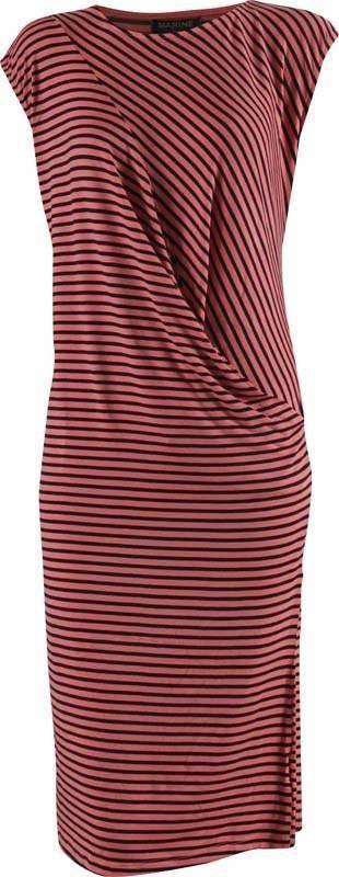 Černo-růžové dámské šaty MARINE