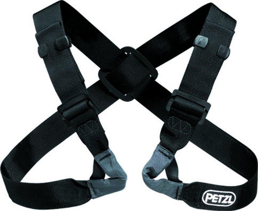 Černý horolezecký úvazek Petzl