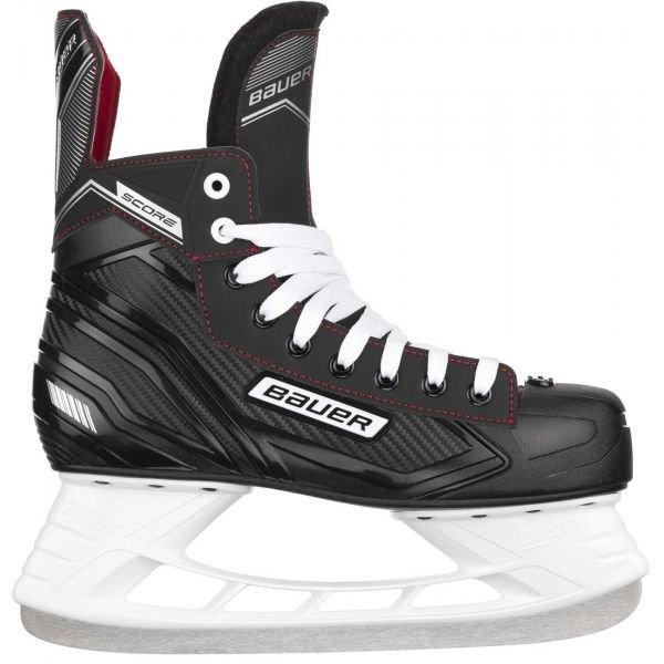 Černé pánské hokejové brusle Bauer - velikost 36,5 EU