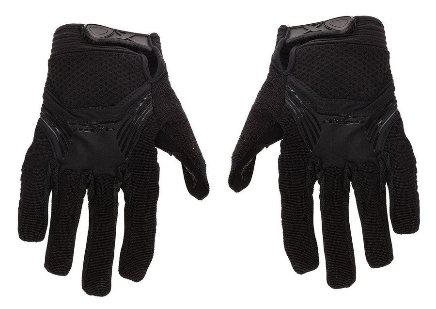 Černé cyklistické rukavice Axon