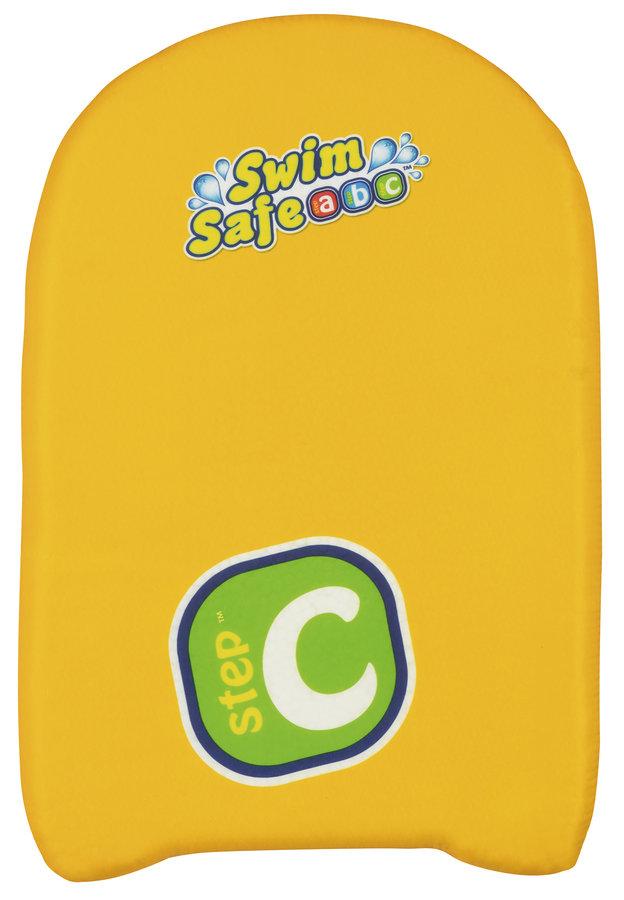 Žlutá plavecká deska Bestway - délka 43 cm, šířka 30 cm a tloušťka 5 cm