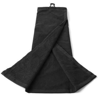 Golfový ručník - Inesis Složený Ručník Černý