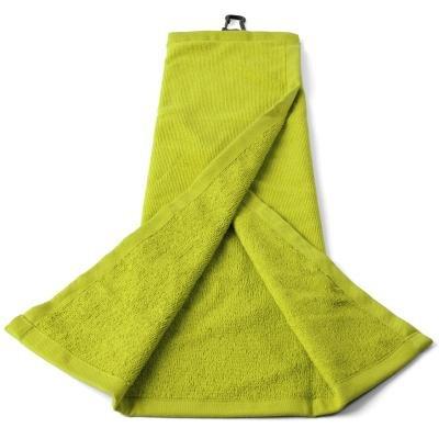 Žlutý golfový ručník Inesis