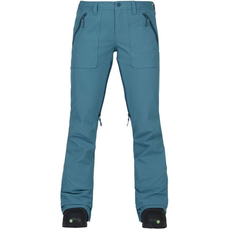 Modré dámské snowboardové kalhoty Burton - velikost M