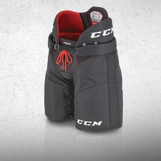 Černé hokejové kalhoty - junior CCM - velikost L