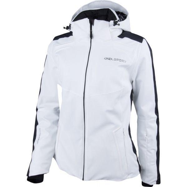 Bílá dámská lyžařská bunda Diel