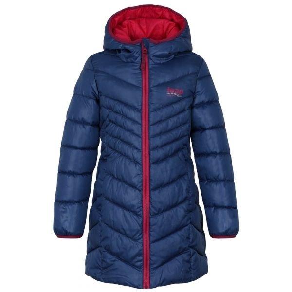 Modrý dívčí kabát Loap