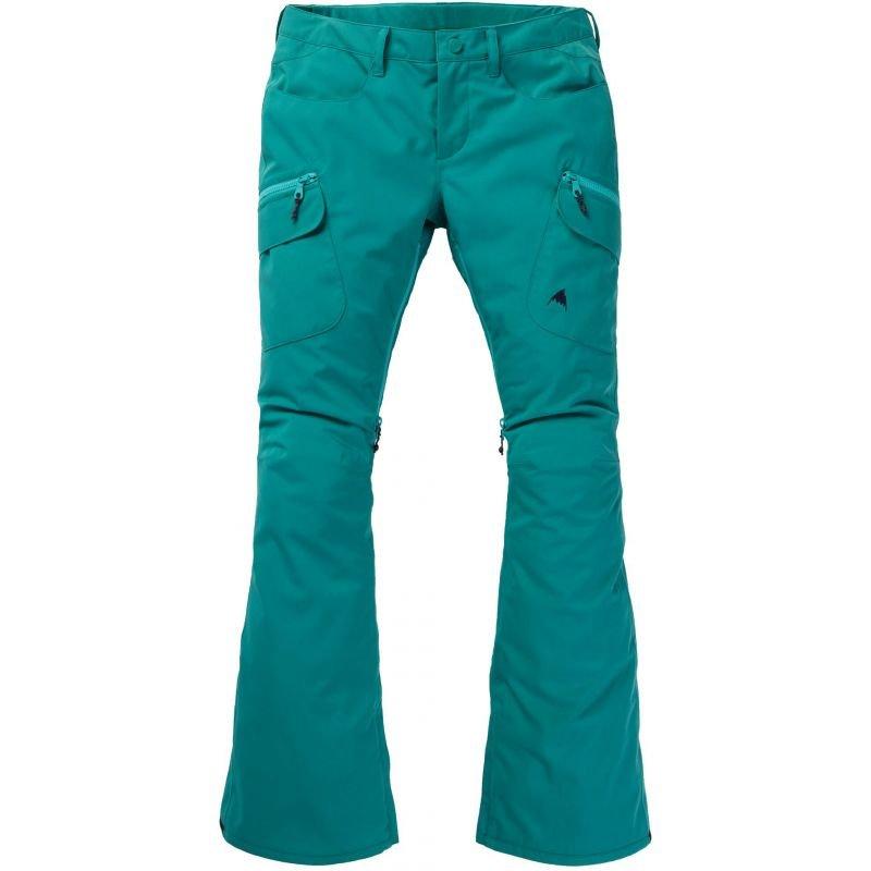 Zelené dámské snowboardové kalhoty Burton