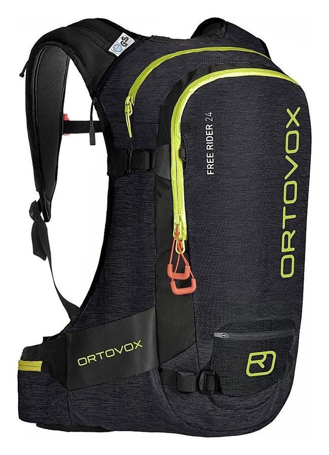Černý skialpový batoh Ortovox - objem 24 l