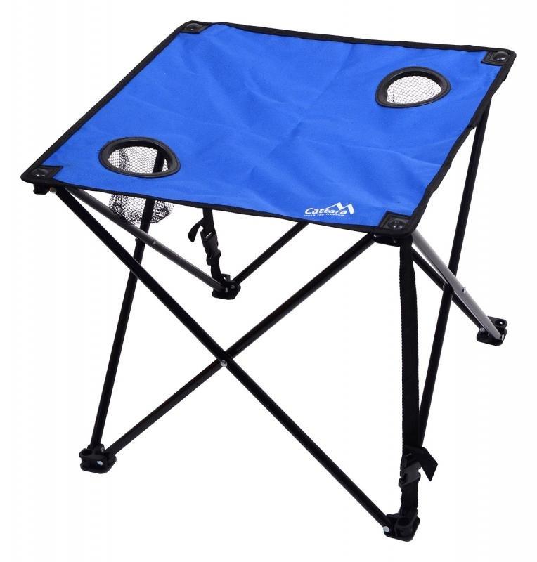 Kempingový stůl Cattara - délka 47 cm, šířka 47 cm a výška 45 cm