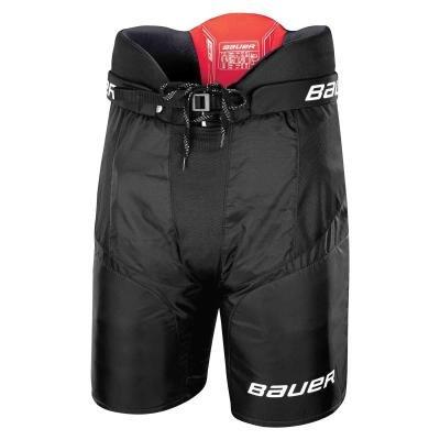 Černé hokejové kalhoty - senior Bauer - velikost L