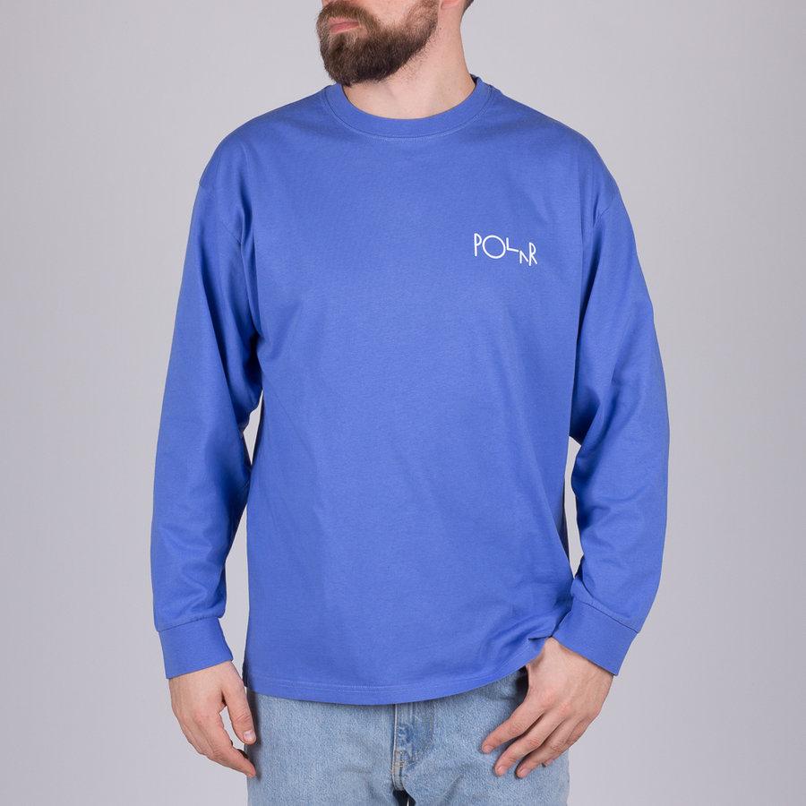 Modré pánské tričko s dlouhým rukávem Polar Skate Co. - velikost S