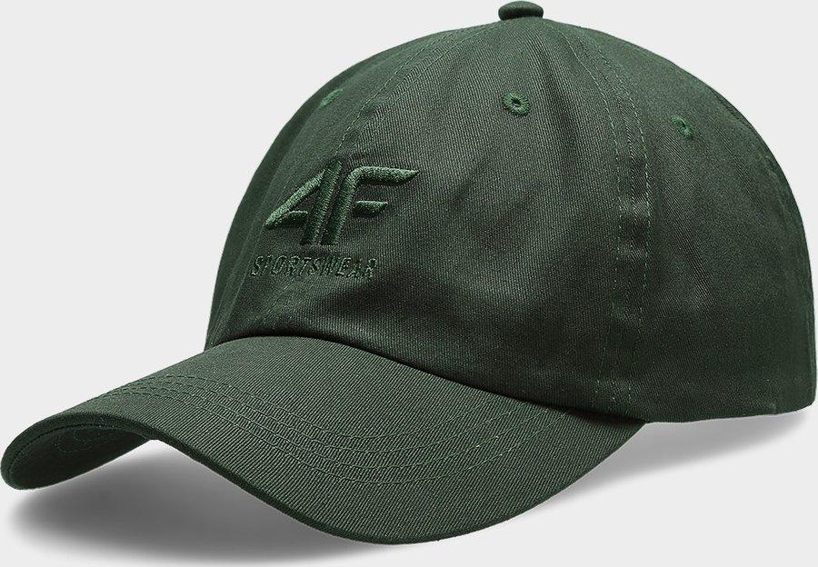 Zelená pánská kšiltovka 4F