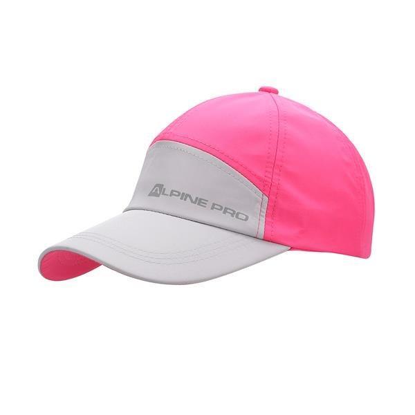 Bílo-růžová kšiltovka Clefto, Alpine Pro - univerzální velikost