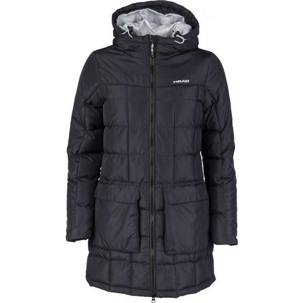 Černý zimní dámský kabát Head