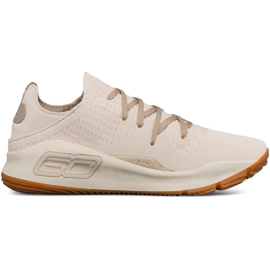 Béžové pánské basketbalové boty Curry 4 Low, Under Armour - velikost 40,5 EU