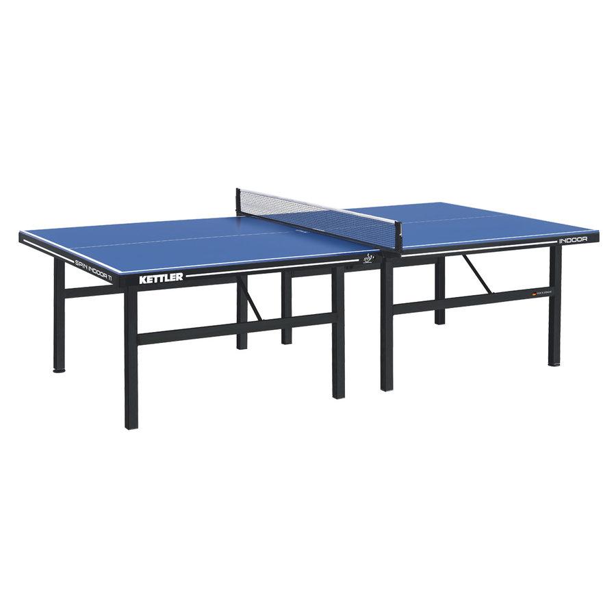 Modrý vnitřní stůl na stolní tenis SPIN 11, Kettler