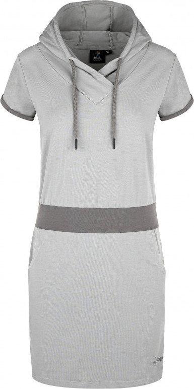 Šedé dámské šaty Kilpi
