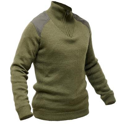Zelený lovecký svetr Solognac